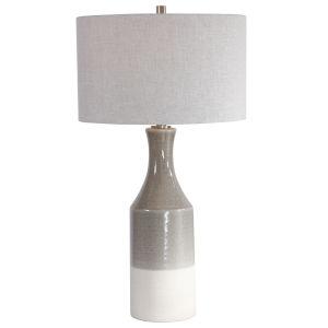 Savin Gray Ceramic Table Lamp