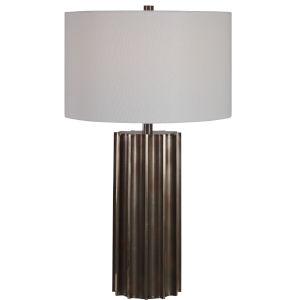 Khalio Aged Gun Metal Table Lamp
