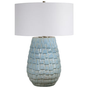 Talima Blue One-Light Table Lamp