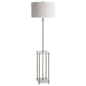 Palladian Brass One-Light Floor Lamp