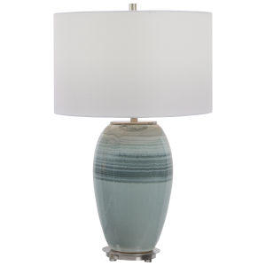 Caicos Teal One-Light Table Lamp