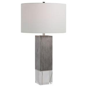 Cordata Light Gray One-Light Table Lamp