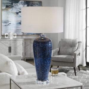 Stargazer Cobalt Navy One-Light Table Lamp
