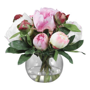 Blaire Lush Pink Peony Bouquet