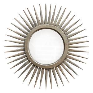 Alia Ash White Starburst Mirror