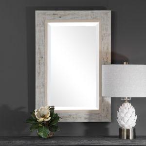 Branbury Light Wood Mirror