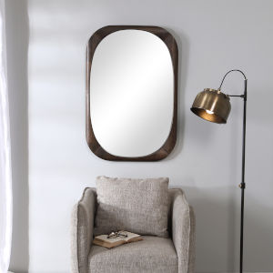 Sheldon Dark Walnut Mirror