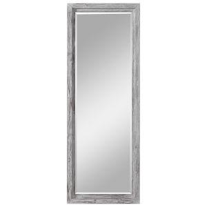 Jestine White and Gray Dressing Mirror