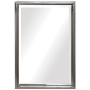 Cosimo Brushed Silver Vanity Mirror