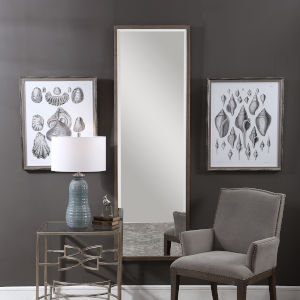 Kian Brushed Brass Dressing Mirror