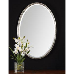 Casalina Brushed Nickel Oval Mirror