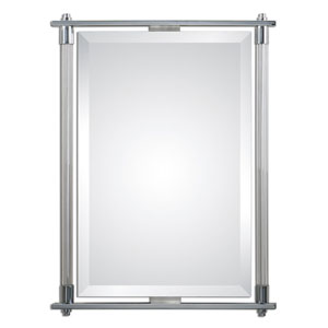 Adara Vanity Polished Chrome 35.5-Inch Mirror