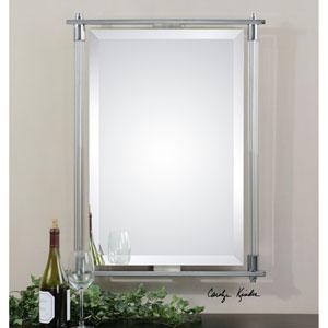 Adara Vanity Polished Chrome 35.5-Inch Mirror