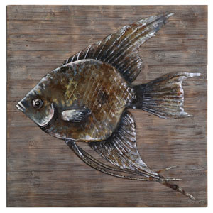 Iron Fish 40-Inch Alternative Wall Decor