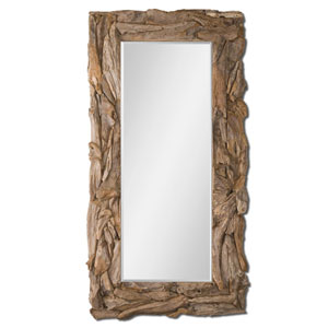 Teak Root Teak Root Natural Mirror