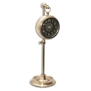 Pocket Watch Woodburn Brass Clock