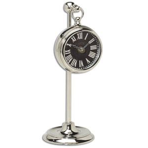 Pocket Watch Marchant Nickel Clock