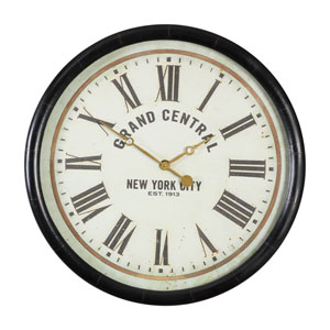 37c6ca857831 Uttermost Ronan Rustic Bronze Large Wall Clock 06084 | Bellacor