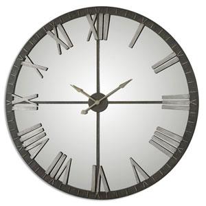 Amelie Rustic Bronze Wall Clock
