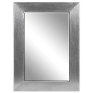 Martel Aluminum Wood Modern Mirror