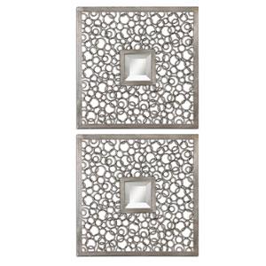 Colusa Squares Mirror, Set of Two