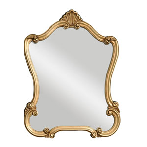Walton Hall Gold Mirror