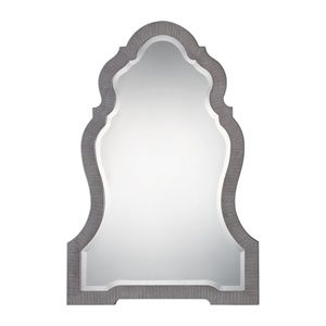 Carroll Aged Gray Arch Mirror