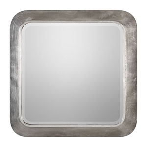 Verea Metallic Silver Mirror