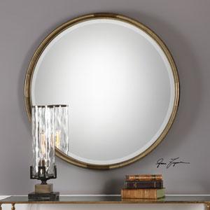 Finnick Iron Coil Round Mirror