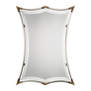 Verity Brushed Nickel Mirror