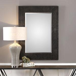Caprione Rectangluar Oxidized Dark Copper Mirror