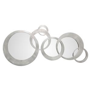 Odiana Silver Rings Modern Mirror