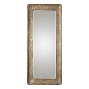 Silas Hammered Gold Mirror