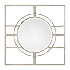 Zenon Contemporary Silver Mirror