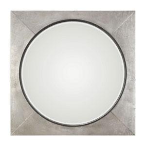 Solomon Metallic Silver Mirror