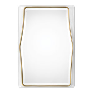 Colleen Gloss White Mirror