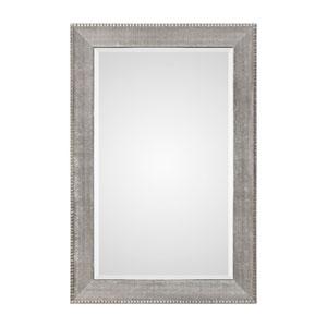 Leiston Metallic Silver Mirror