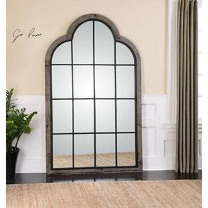 Gavorrano Gray Oversized Arch Mirror
