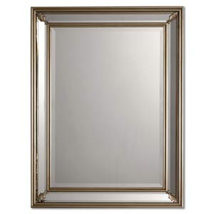 Jansen Silver Leaf Rectangle Mirror