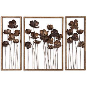 Metal Tulips, Set of Three