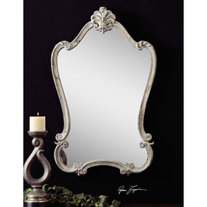 Antique White Walton Hall Mirror