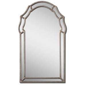 Antiqued Silver Petrizzi Mirror