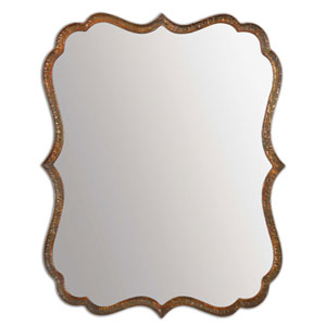 Spadola Oxidized Copper 30-Inch Bathroom Mirror