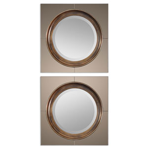 Gouveia Antique Gold Modern Mirror