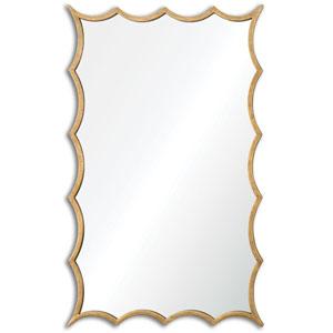 Dareios Blue Gold Door Mirror