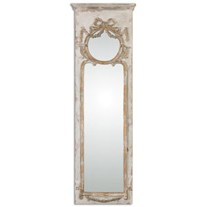 Casella Antique Ivory Wall Mirror