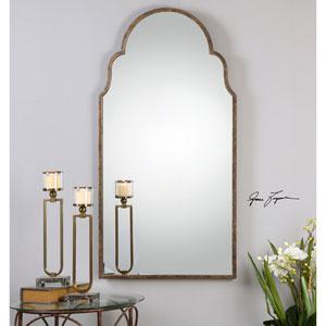 Brayden Rust Bronze Arch Mirror