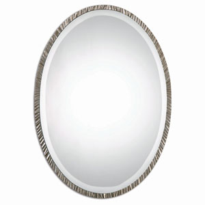 Annadel Polished Nickel Wall Mirror
