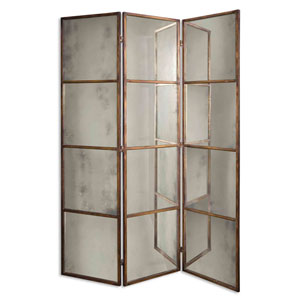 Avidan Three-Panel Screen Mirror