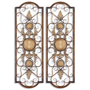 Micayla Metal Panel, Set of Two